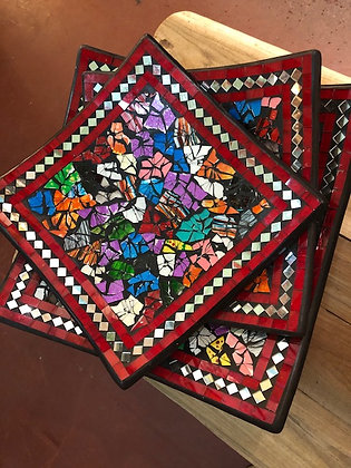 Assiettes Mosaiques Guadeloupe
