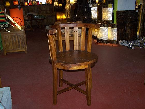Chaise Basse Teck Guadeloupe