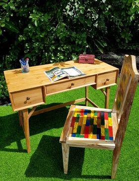 Chaise bois recyclé
