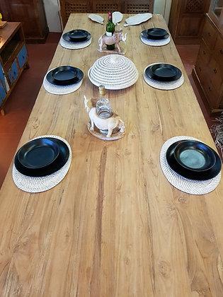 Grande table teck