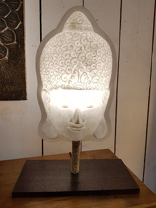 Lampe  visage bouddha