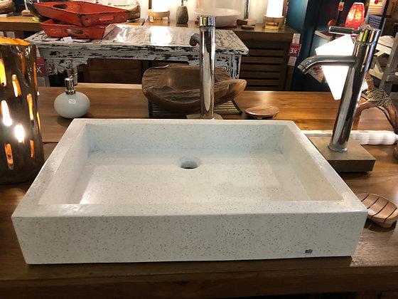 Vasque Terrazzo beige