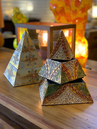 Boites pyramide