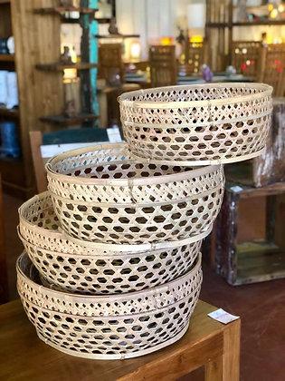 Corbeilles Bambou
