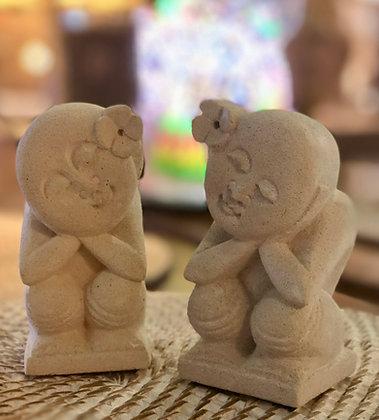 Couple de déesses