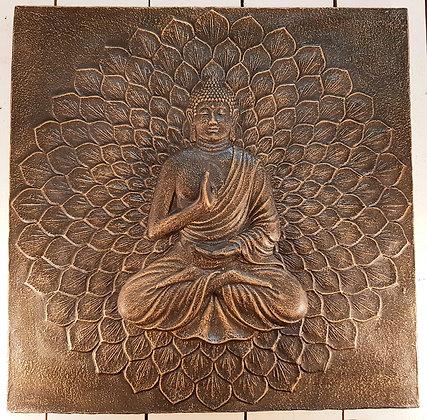 Tableau résine bouddha