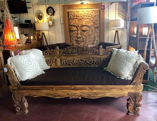 Sofa en bois recyclé
