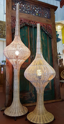 Lampe Kubah Rotin