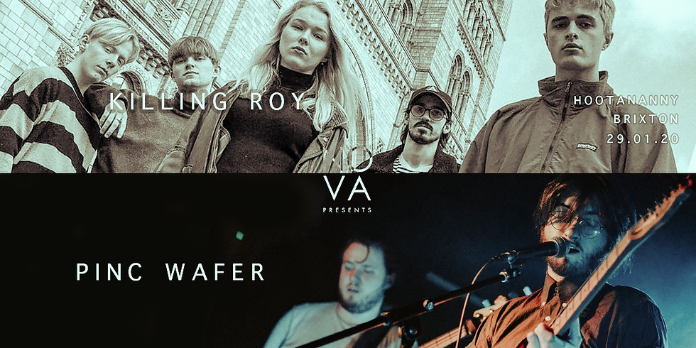 Nova presents @ Hootananny feat Pinc Wafer + Killing Roy