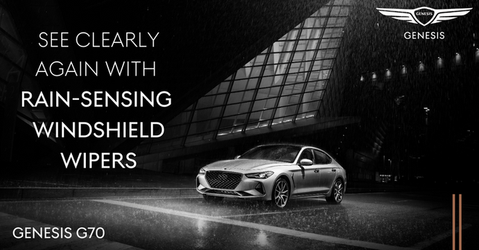 See clearly with rain-sensing windshield