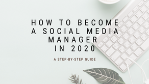 How to Become a Social Media Manager in 2020