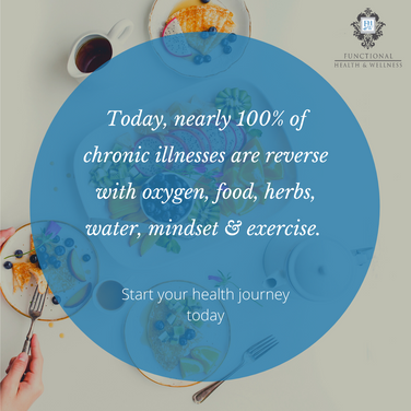 Today, nearly 100% of chronic illnesses