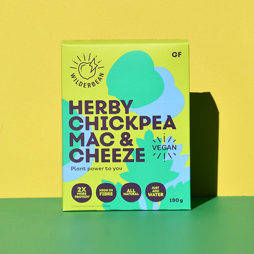 Herby Chickpea Mac and Cheeze
