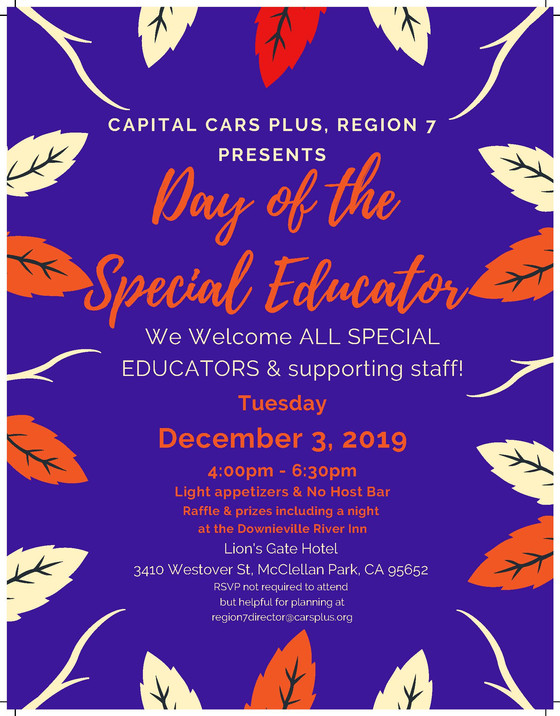 Day of the Special Educator