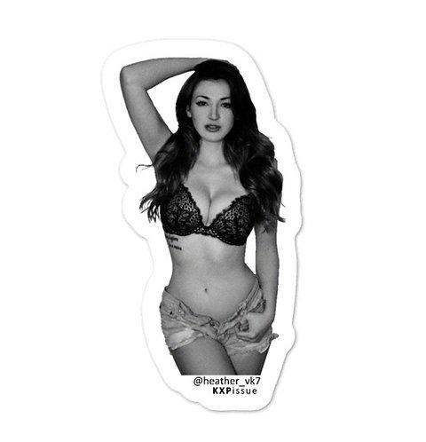 Heather by KXPissue 3x3 Sticker