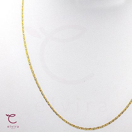 Cadena delgada oro florentino 10k