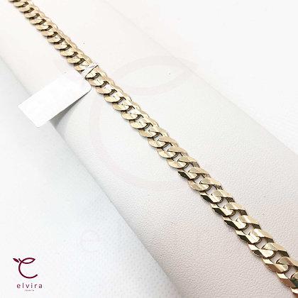 Pulso tejido barbado oro 10k