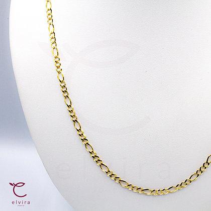 Cadena tejido 3x1 de oro 10k