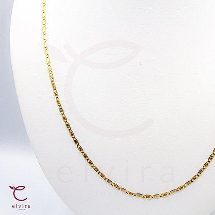 Cadena oro florentino de oro 10k