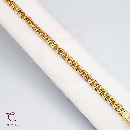Pulso tejido chino oro 10k