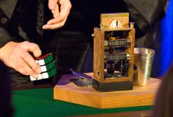Zeitmaschine im Salon der Wunder
