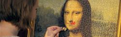 Das letzte Teil der Mona Lisa