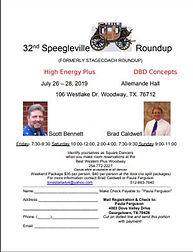 32nd Speegleville Roundup