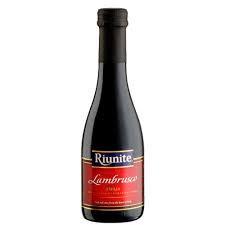 vino tinto riunite lambrusco 187 ml