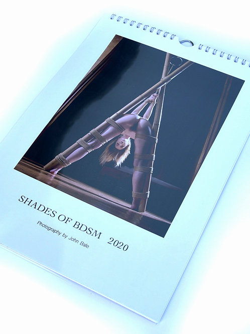 "Kalender A4 ""Shades of BDSM 2020"" by John Bale calendar"