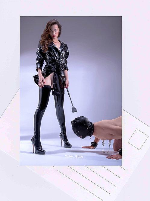 Postcard erotic art Domina Nr.38 Fotografie von John Bale 2018 Photography