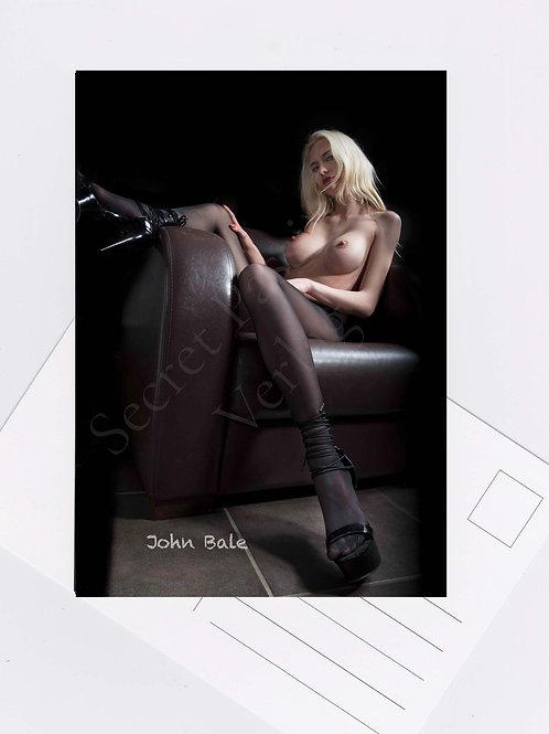 Postkarte Nr.30 erotisch sexy women Fotografie von John Bale 2018 photo art