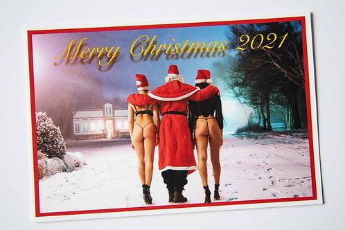10 Postkarten Nr.140 Weihnachten 2021 erotic art Fotografie by John Bale