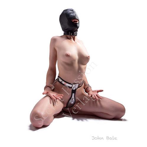 Bdsm model, fetishart, john bale, secretpassion verlag, fetishmodel, nude, erotic art, bondage, chastitybelt