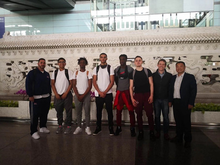 Second Group of SCA Students Visit China