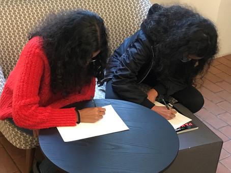 Statt Januar-Flaute im Lockdown: ein Schreibworkshop für Geschwister