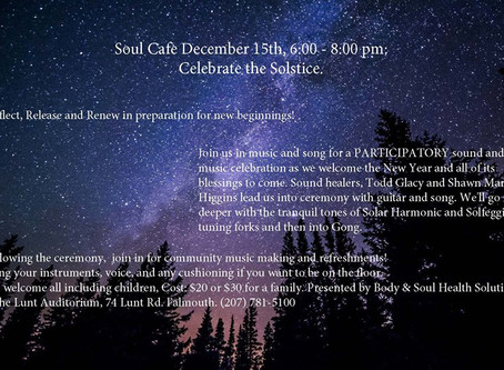 Sound and Music Solstice Celebration!