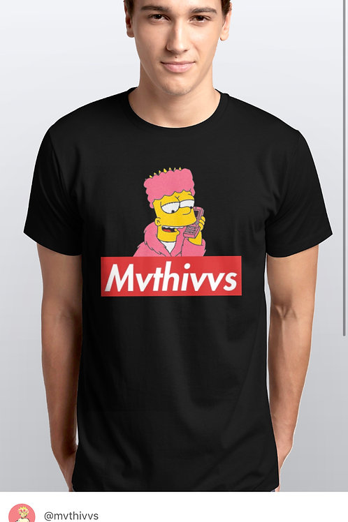 (BLK) CAMRON BART TEE MVTHIVVS COLLECTION 00