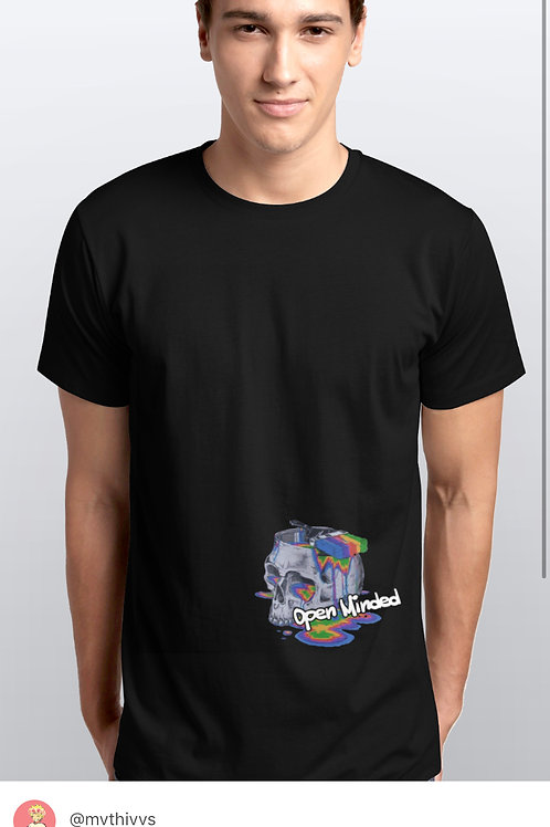 (BLK) OPEN MINDED TEE MVTHIVVS COLLECTION 00