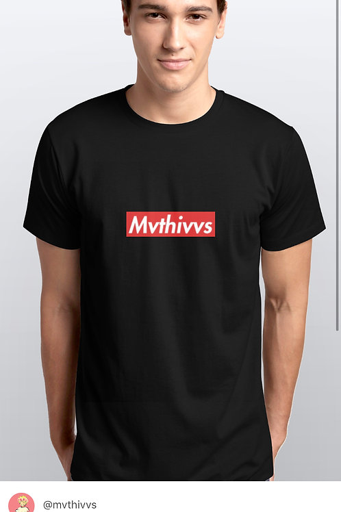 (BLK) BOX LOGO TEE MVTHIVVS COLLECTION 00