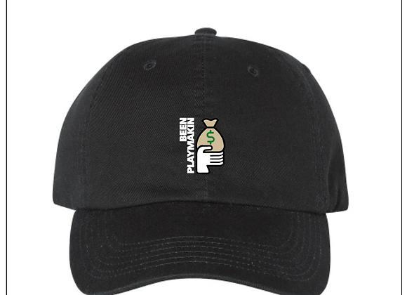 (Black) Been Playmakin Dad Hat 00
