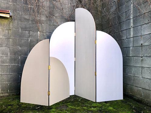 Beige Arch set Backdrop