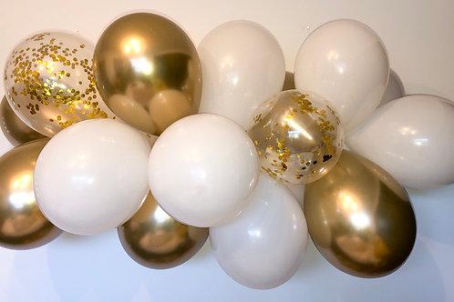 Gold DIY Balloon Garland Kit