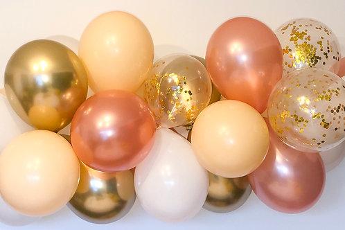 Rose Gold Rush DIY Balloon Garland Kit
