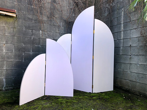 Baby Pink Arch set Backdrop
