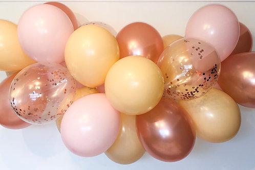Rose Gold Blush DIY Balloon Garland Kit