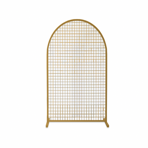 Gold Mesh Arch