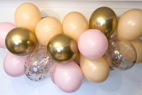 Gold Blush DIY Balloon Garland Kit