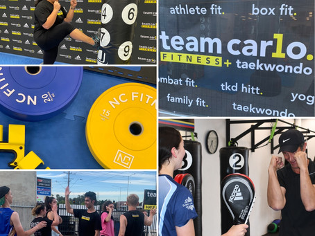 Taekwondo Inspired Fitness at Team Carlo - the change you have been hoping for.