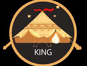 Glamacamp Glamping King Tent Logo
