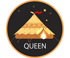 Glamacamp Glamping Queen Tent Logo
